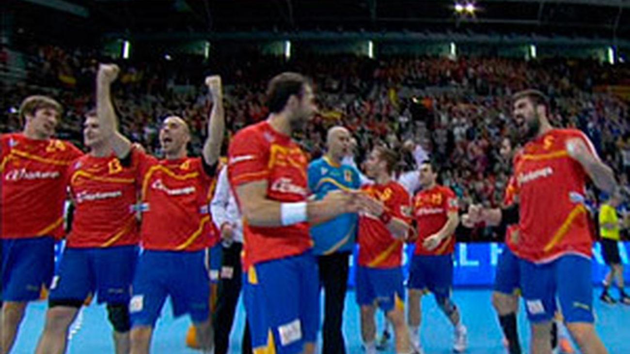 España, a semifinales en el mundial de balonmano al vencer a ...