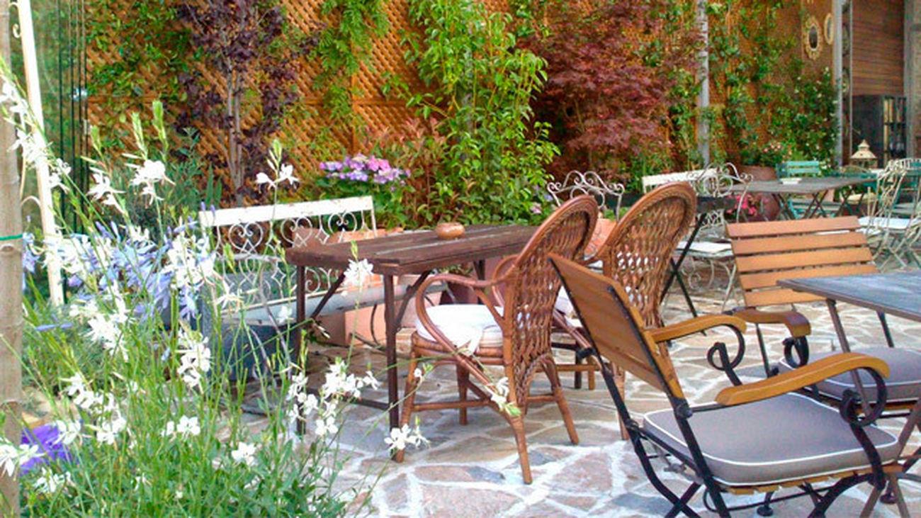 Un Cafe En Un Jardin Secreto En El Centro De Madrid