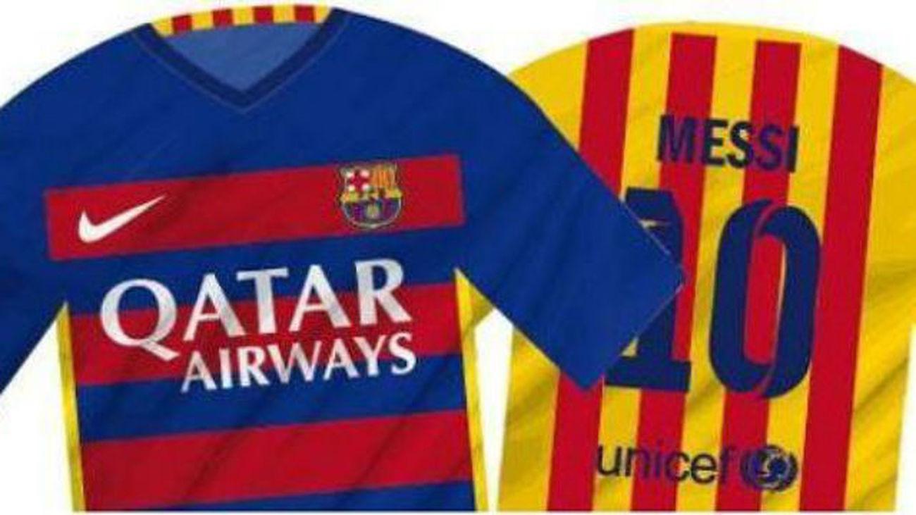 Polémica con la nueva camiseta del Barça de64273b5b8