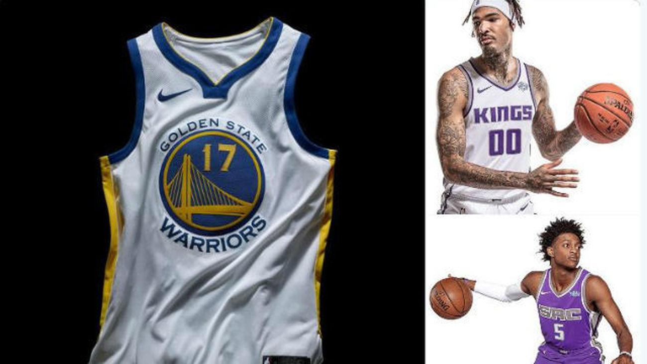 juego ambulancia Motivar  La NBA da a conocer las nuevas camisetas oficiales de la firma Nike