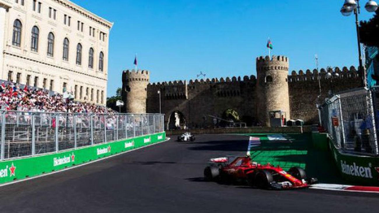Circuito Urbano De Baku : Formula ™ gran premio de azerbaiyÁn circuito urbano de bakú