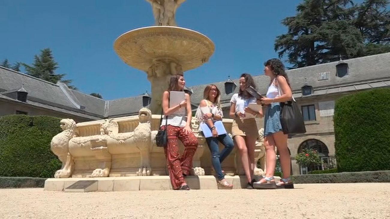 174bf233290 Los cursos de verano transforman San Lorenzo de El Escorial