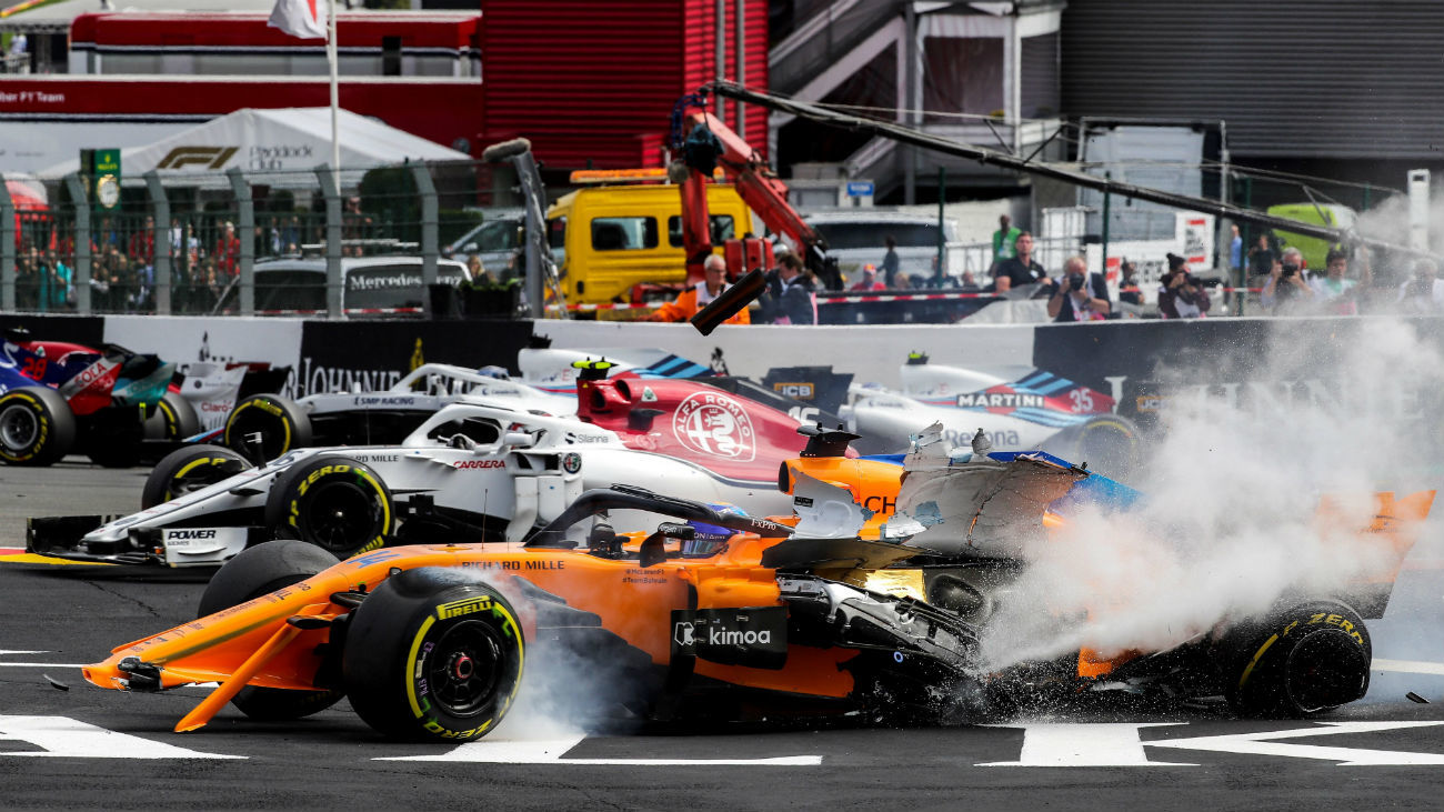 Circuito Fernando Alonso : Hülkenberg sancionado con diez posiciones menos en el gran premio