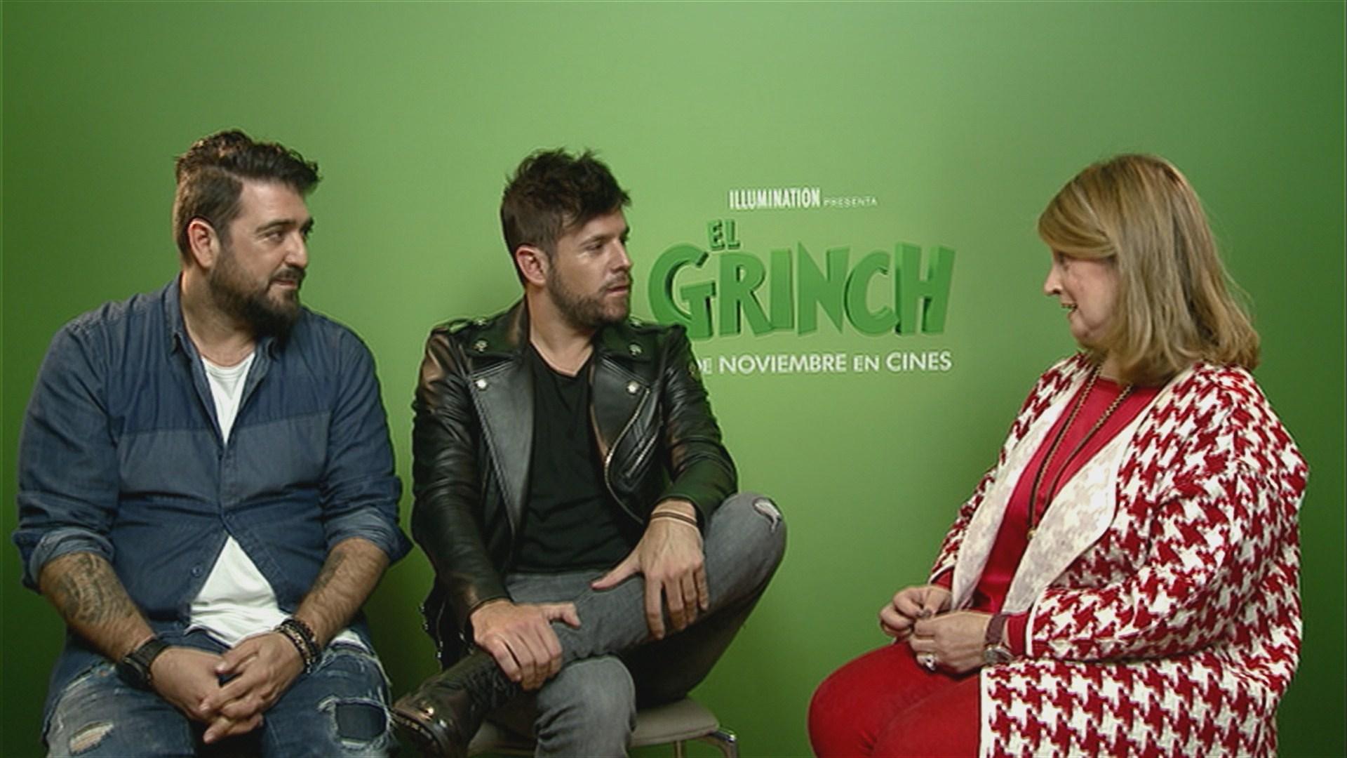 Imagenes De Grinch De Buenos Dias.Antonio Orozco Y Pablo Lopez Unen Sus Voces Por El Grinch