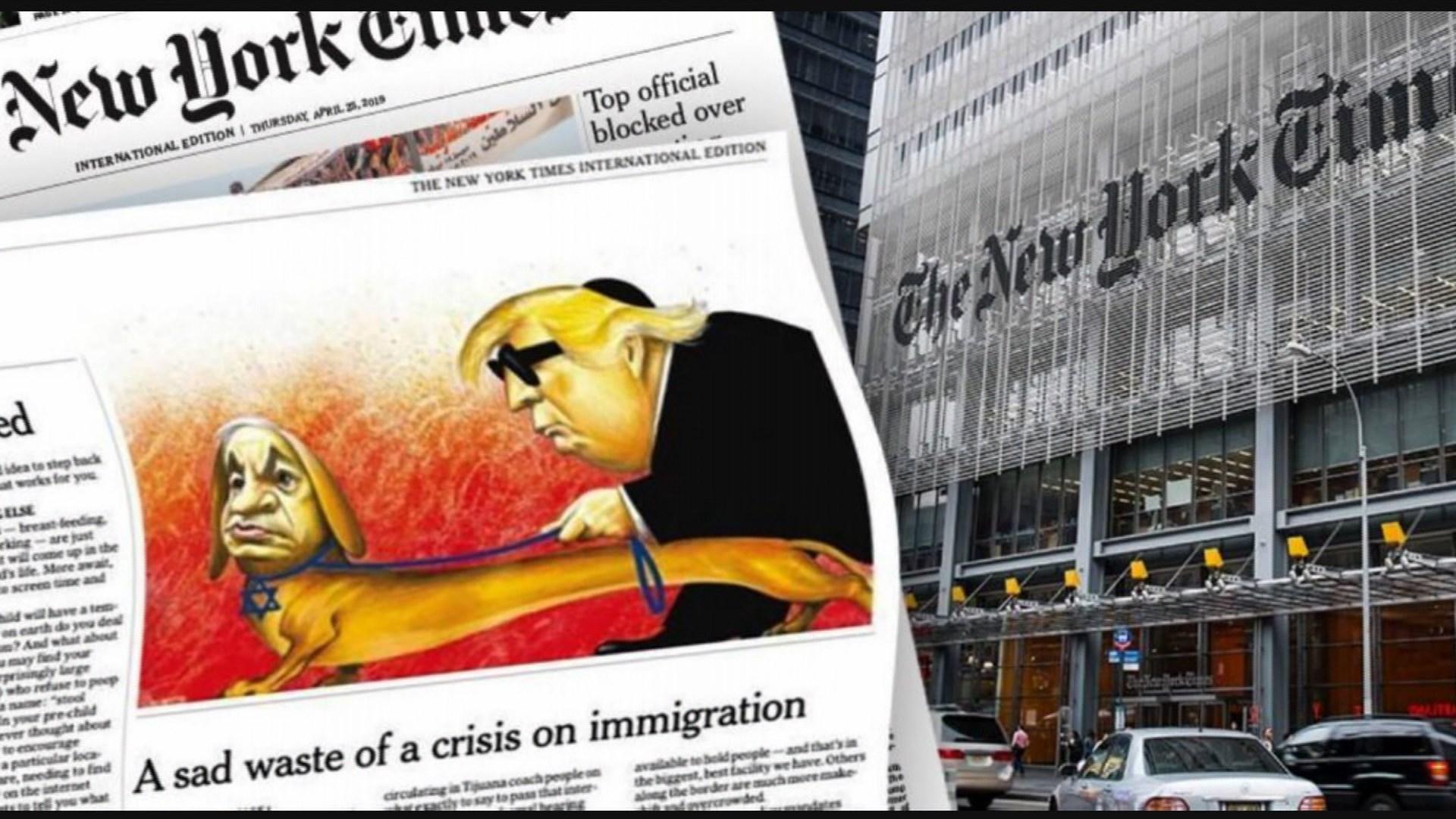 The New York Times Dejará De Publicar Viñetas Políticas En