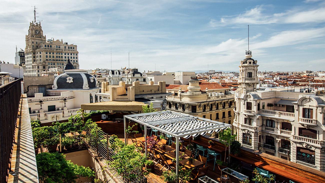 Las Mejores Terrazas Con Altura De Madrid