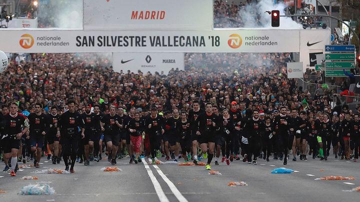Más de 20.000 participantes apuntados para la San Silvestre Vallecana