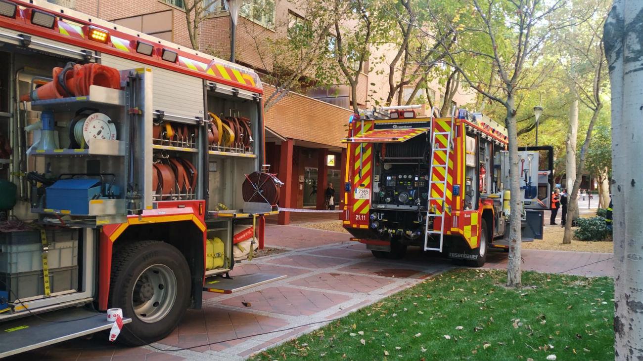 Un Incendio En Un Restaurante En Tres Cantos Obliga Al