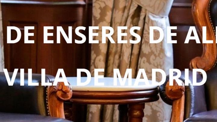 El Ayuntamiento de Madrid subasta mobiliario y 7.000 objetos del Almacén de la Villa