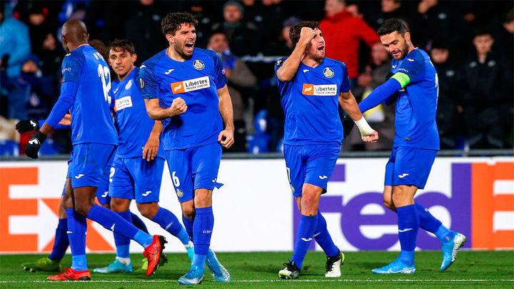 El Getafe gana 3-0 y se clasifica para dieciseisavos de final de la Liga Europa