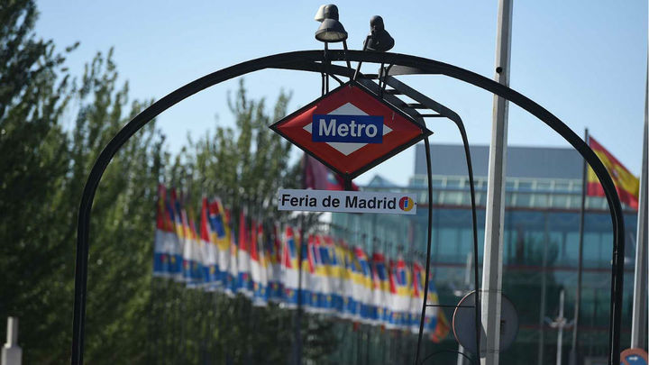 Metro de Madrid refuerza un 50% la línea 8 para facilitar el acceso a Fitur