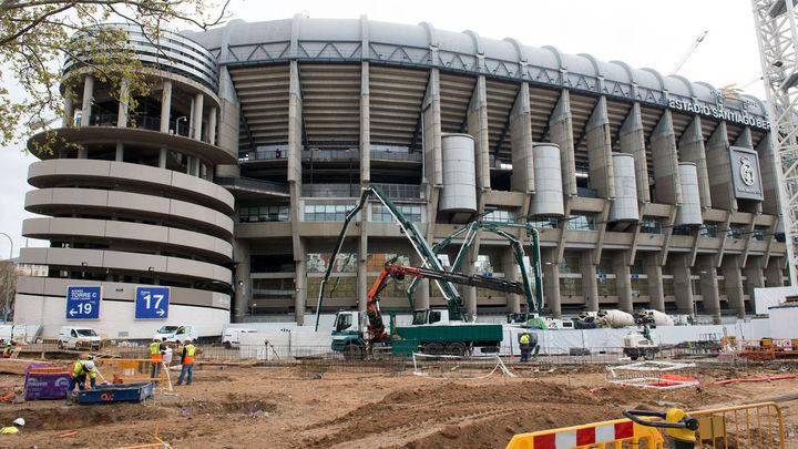 Las obras del Bernabéu se paralizan tras las nuevas medidas del Gobierno
